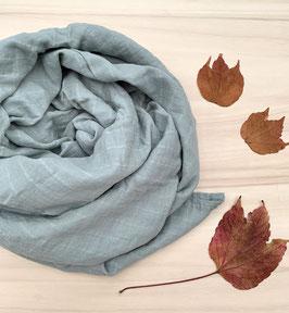 Mushie ||  Musselin-tuch | Belgian grey |
