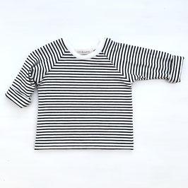 Basic Shirt Stripes | Schwarz