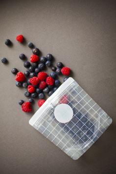 Haps Nordic | 3er Set Wiederverwendbare Snack Packs 400ml