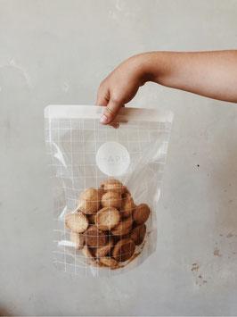 Haps Nordic | 3er Set Wiederverwendbare Snack Packs 1000ml