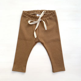 Simple Rib Leggings | Walnut