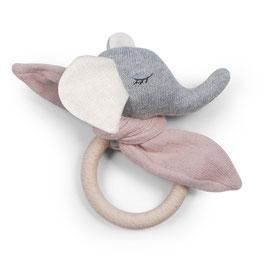 Saga Copenhagen | Teether Elefant | rose