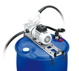 Betankungsset DRUM für Harnstoff (AdBlue) , 230 V mit automat. Edelstahl-Zapfpistole