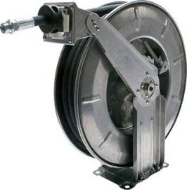 Automatische Schlauchaufroller für Hydrauliköl und Wasser, 220 bar