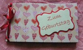 """Gutscheinbuch """" Herzen"""""""