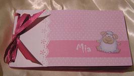 Gutscheinbuch für kleine Mädchen
