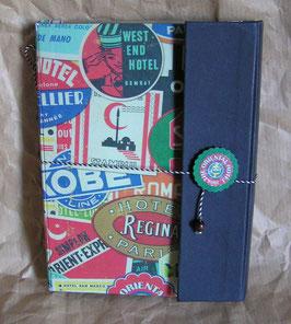 Reisetagebuch Hotels A5