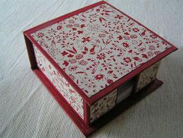 Zettelbox Rot
