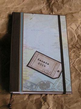 Reisetagebuch Din A5