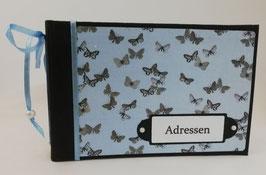 """Adressbuch """"Schmetterlinge"""""""