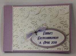 Gästebuch Erstkommunion Erinnerungsbuch diverse Farben