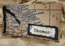 """Gutscheinbuch """"Vintage Map"""""""