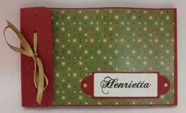 Gutscheinbuch Vintage Grün