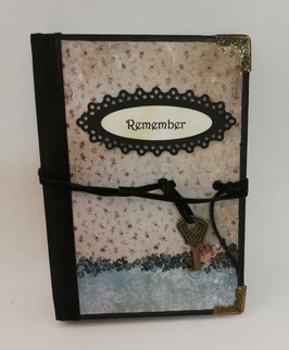 "Nostalgisches Tagebuch Skizzenbuch Notizbuch ""Roma"" A6"