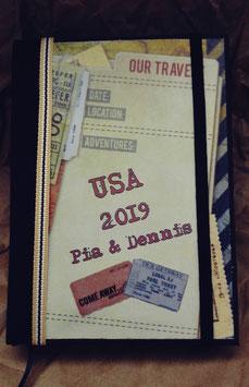 """Reisetagebuch klein """"Tickets"""""""