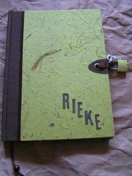 """Abschließbares Tagebuch """"Nature Lemon"""""""