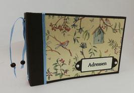 """Adressbuch """"Birdies home"""""""