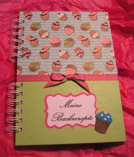"""Rezeptbuch """"Muffins"""" grün"""