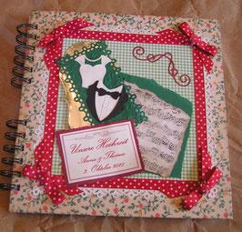 """Gästebuch für die Hochzeit """"Vintage Marriage"""""""