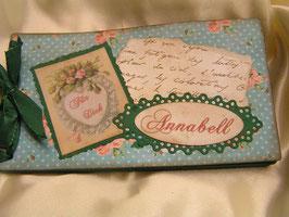 """Gutscheinbuch """"Valentine Blue"""""""