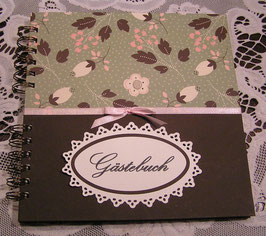 "Gästebuch ""English Flowers"""
