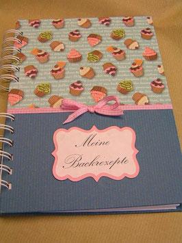 "Rezeptbuch ""Muffins"" blau"