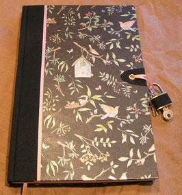 """Abschließbares Tagebuch """"Birdies home"""""""