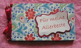 """Gutscheinbuch """"Blumen"""""""