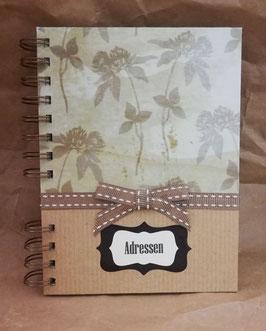 """Adressbuch """"Bamboo"""""""