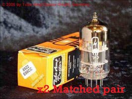 6922 / ECC88 TAD Premium Selected (balanced)= ECC88, 6DJ8, 6922, 6N11  double-triode  **** Matched pair