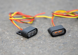 SCHIZZO® MINI LED REAR LIGHT / INDICATOR WITH METAL-HOUSING