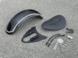 "WalzWerk® Bobber-Kit for BMW R18 with 18"" Rear Wheel, painted Rear Fender"