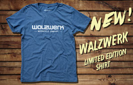"WalzWerk Limited Edition Shirt ""Discreet"", denim blue"