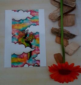 Postkarte Wolkenmeer