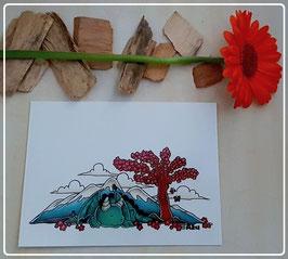 """Postkarte """"Drache"""""""