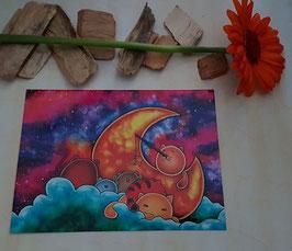 "Postkarte""Galaxy"""