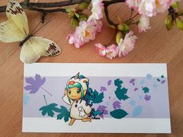 Maxi Postkarte Vio