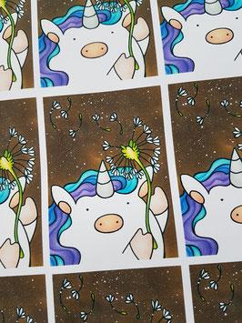 Kakao Karte Blumenzauber