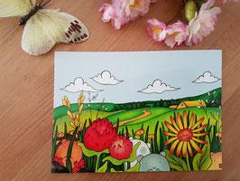 "Postkarte ""Landschaft"""
