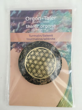Orgon-Taler Turmalin/Selenit