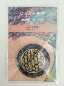 Orgon-Taler Lapis Lazuli
