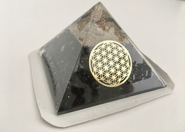 Orgon-Pyramide, schwarzer Turmalin Kristallspitze