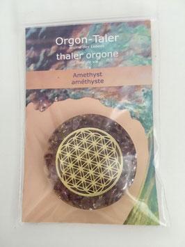Orgon-Taler Amethyst