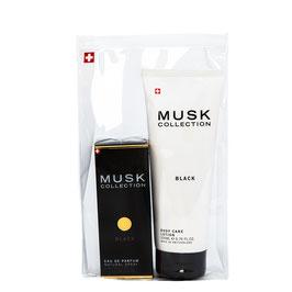 Black Musk Set Parfum 50 ml & Body Lotion 200 ml