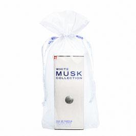 White Musk Parfum 100 ml in weissem Tüll