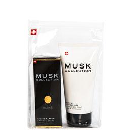 Black Musk coffret parfum 50 ml & gel douche 150 ml