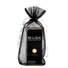 Black Musk parfum 100 ml en tulle noir