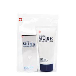 White Musk coffret parfum 50 ml & gel douche  150 ml
