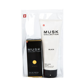Black Musk coffret parfum 50 ml & lotion corps 200 ml