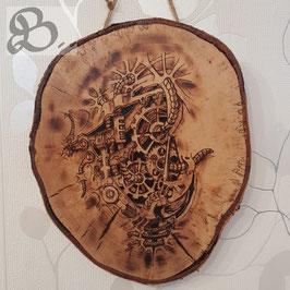 "Brandbild ""Heart of the tree"""
